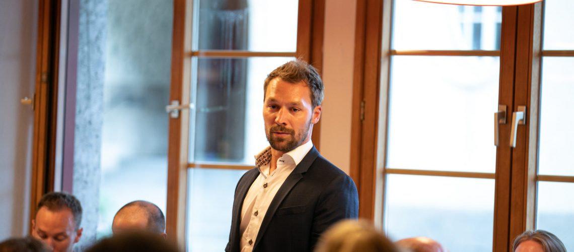 Vorstandsvorsitzender des HC Kufstein Roland Luchner